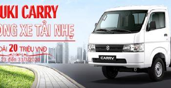 Suzuki Carry Pro khuyến mãi khủng trong tháng 3